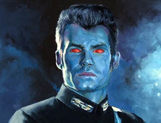 Grand Admiral Thrawn from Star Wars