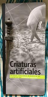 Portada del libro Criaturas artificiales, de varios autores