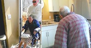 Γιος ανακαίνισε το σπίτι των ηλικιωμένων γονιών του και όταν το βλέπουν ξεσπάνε σε λυγμούς
