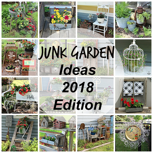 Junk Garden Ideas 2018 Edition