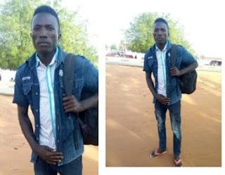 Photos: 25-year-old man begins trekking from Kebbi to Abuja to celebrate President Buhari's re-election