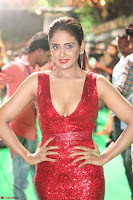Parul Yadav in Sleeveless Deep Neck Red Gown at IIFA Utsavam Awards March 2017 049.JPG