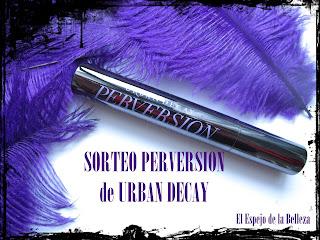 Participaciones Sorteo Instagram Máscara Perversion Urban Decay...