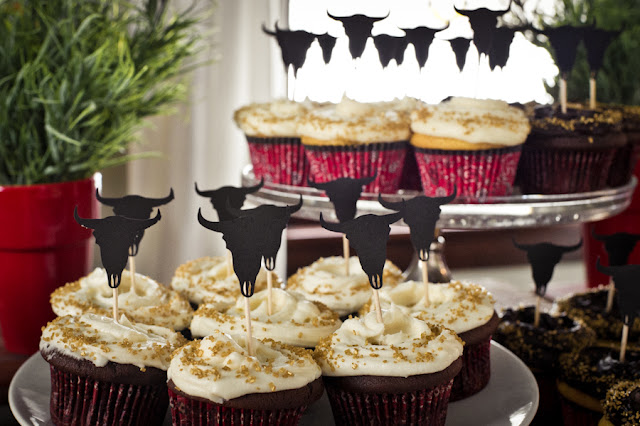 cupcake com tema faroeste