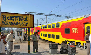 Nita from bareilly become first LOCO Pilot of moradabad divison