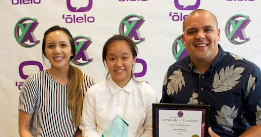 Academy Students Acknowledged at 2017 Olelo Youth Xchange