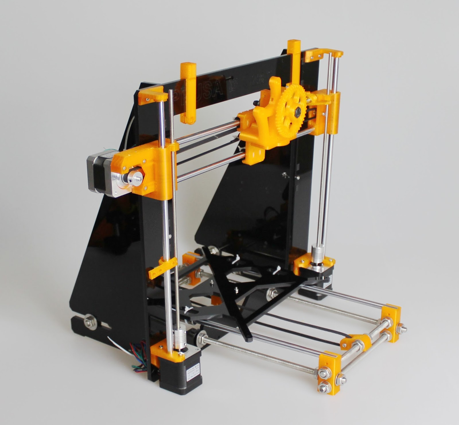 3D Printer DIY and arduino: My thought on Prusa i3 (1) ....Structure stability.