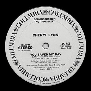 Cheryl Lynn You Saved My DayAll My Lovin