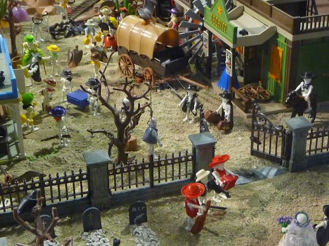 Diorama Playmobil Cowboys Oeste Western