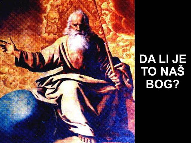 Kako razumeti gnevnog Boga?