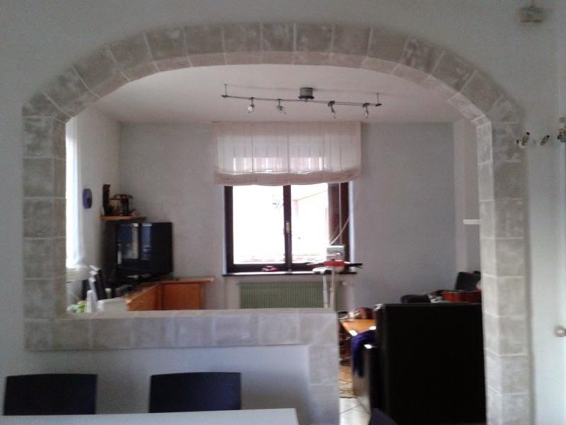 Famoso Stunning Cucina Soggiorno Con Arco Contemporary - Skilifts.us  SN84
