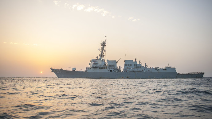 Wallpaper: Military Ship USS Truxtun
