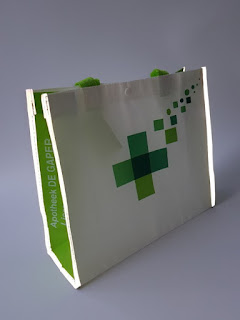DESIGN IDEA: REFLECTIVE PROMOTIONAL BAGS FOR PHARMACIES