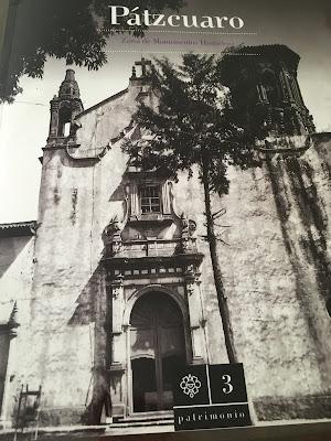 Portada del Libro Pátzcuaro Zona de Monumentos Históricos editado por el INAH