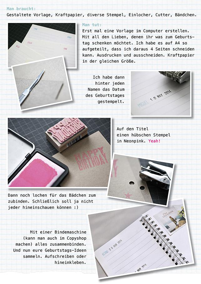 Ynas Design Blog, DIY, Geschenkebuch