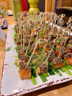 Pepper Crusted Maple Salmon