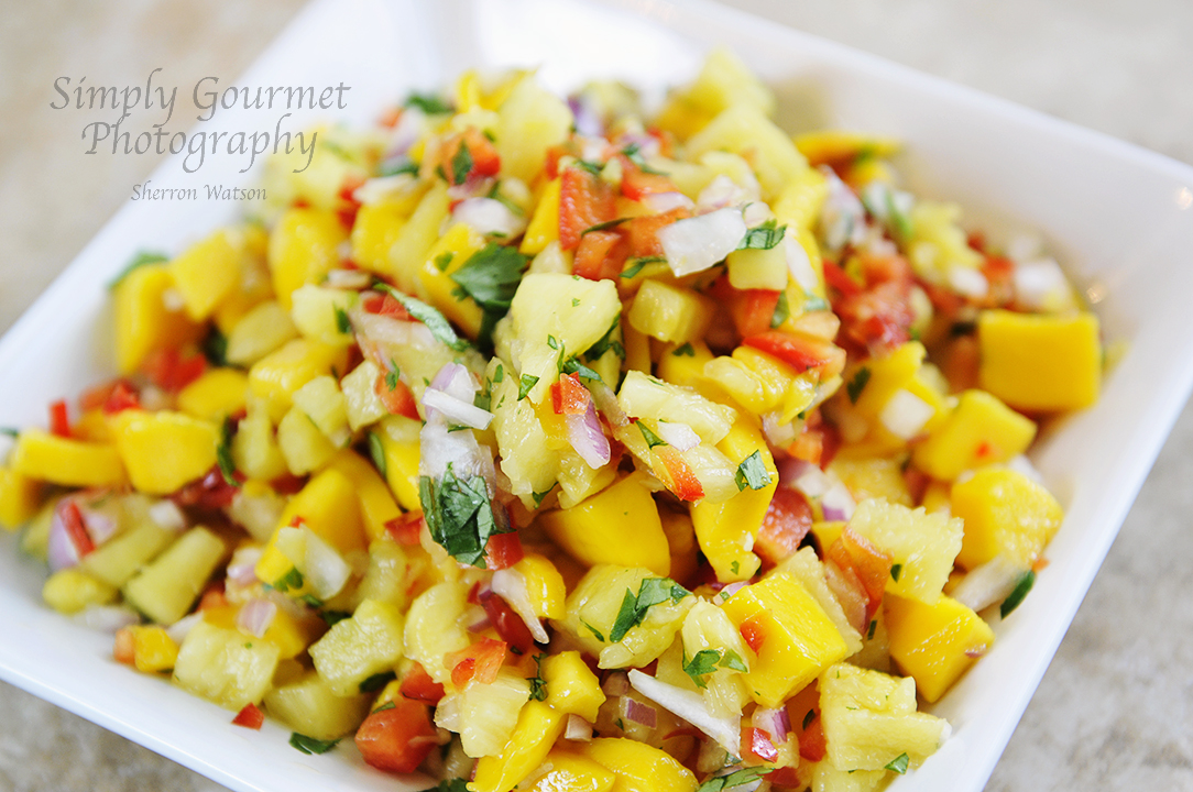 Simply Gourmet: Coconut Shrimp and Mango Salsa