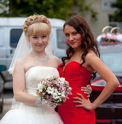 Red Strapless Wedding Guest Dress Bridesmaid Dress