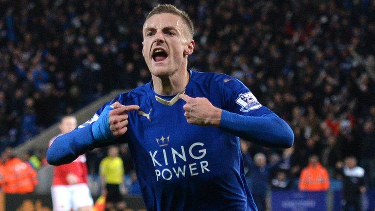 Jamie Vardy renueva con Leicester City
