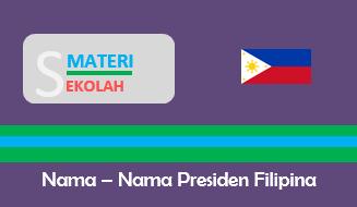 Daftar Nama Presiden Filipina Sepanjang Sejarah (Terlengkap)