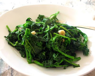 Steamed Broccoli Rabe