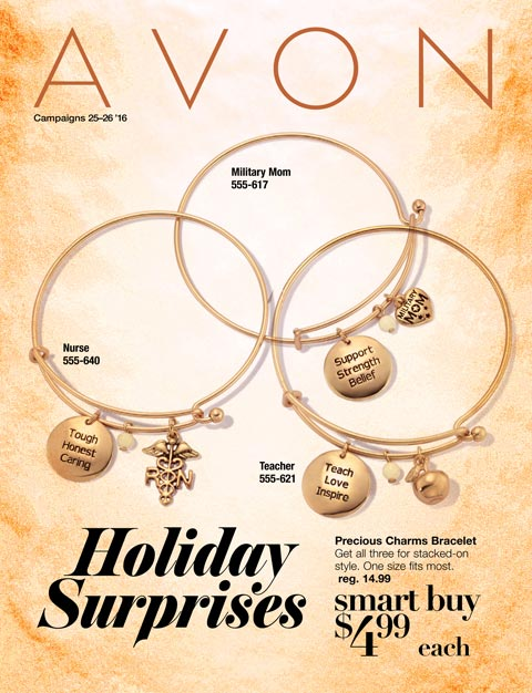 Avon Flyer Campaign 25 & 26  SHOP >>>  11/12/16 - 12/9/16