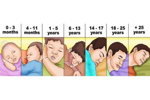 Durasi Tidur yang Dianjurkan Berdasarkan Usia, Harus Tahu!