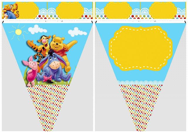 Fiesta de Winnie the Pooh: Imprimibles Gratis.