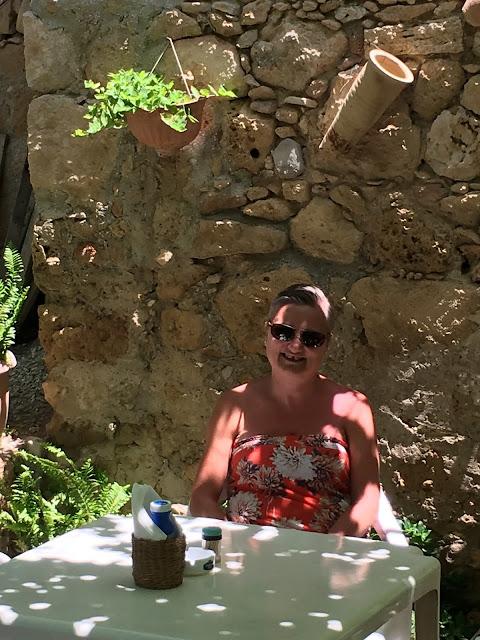 Cyprus courtyard