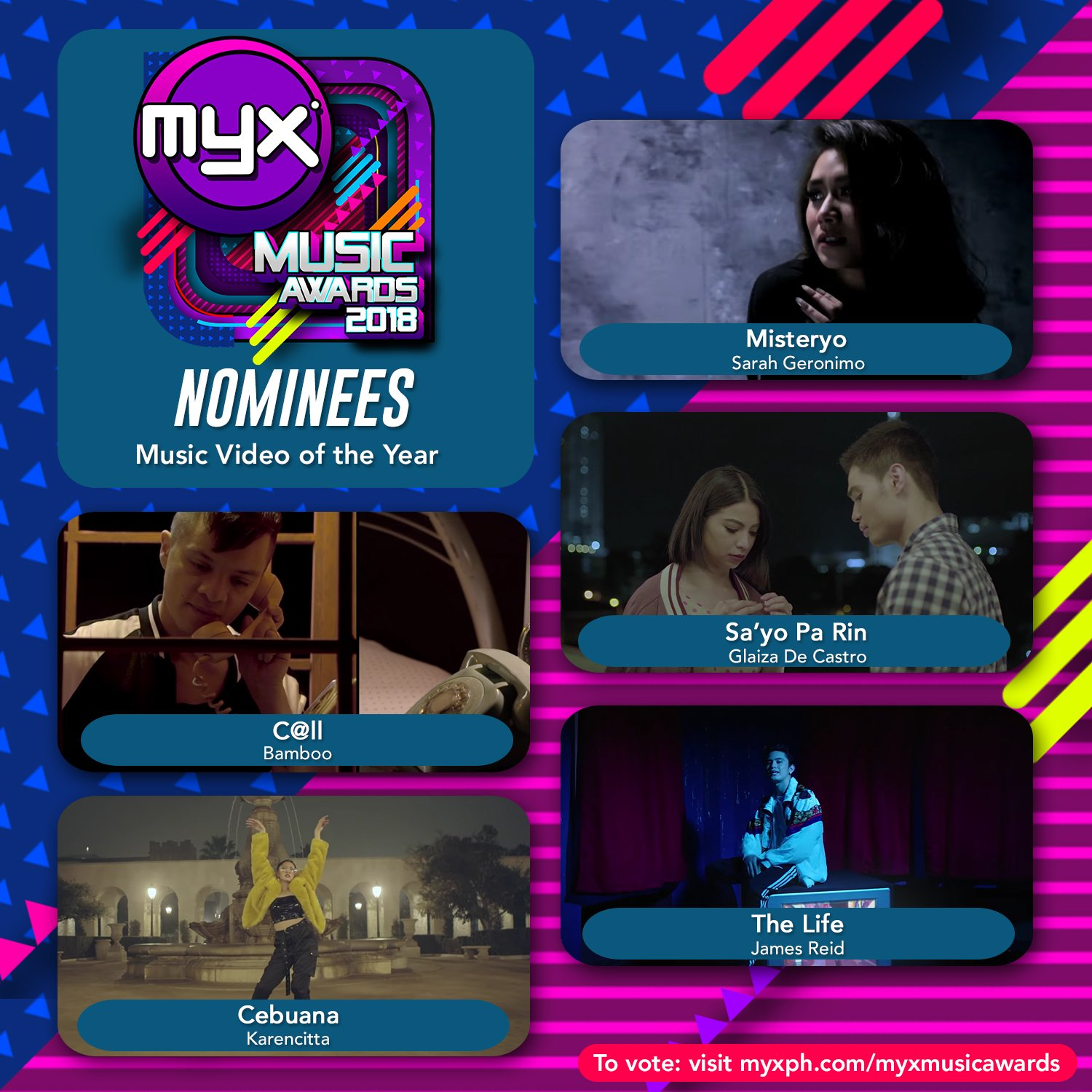 Chikkaness Avenue: MYX MUSIC AWARDS CELEBRATES 13TH YEAR AT THE BIG DOME
