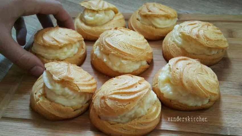 Resep Membuat Cream Puff Ala Bunda Xanderskitchen