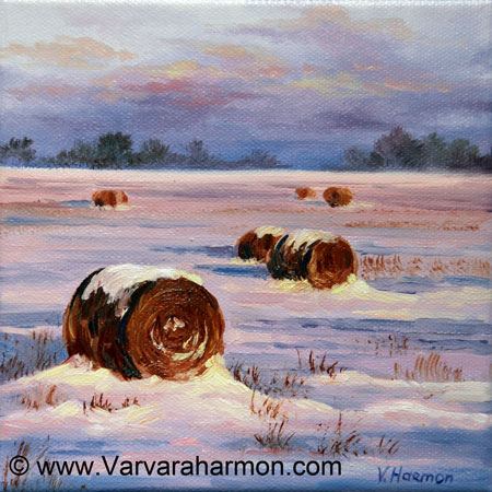 Tuesday March 01 2011 Miniature Oil Painting