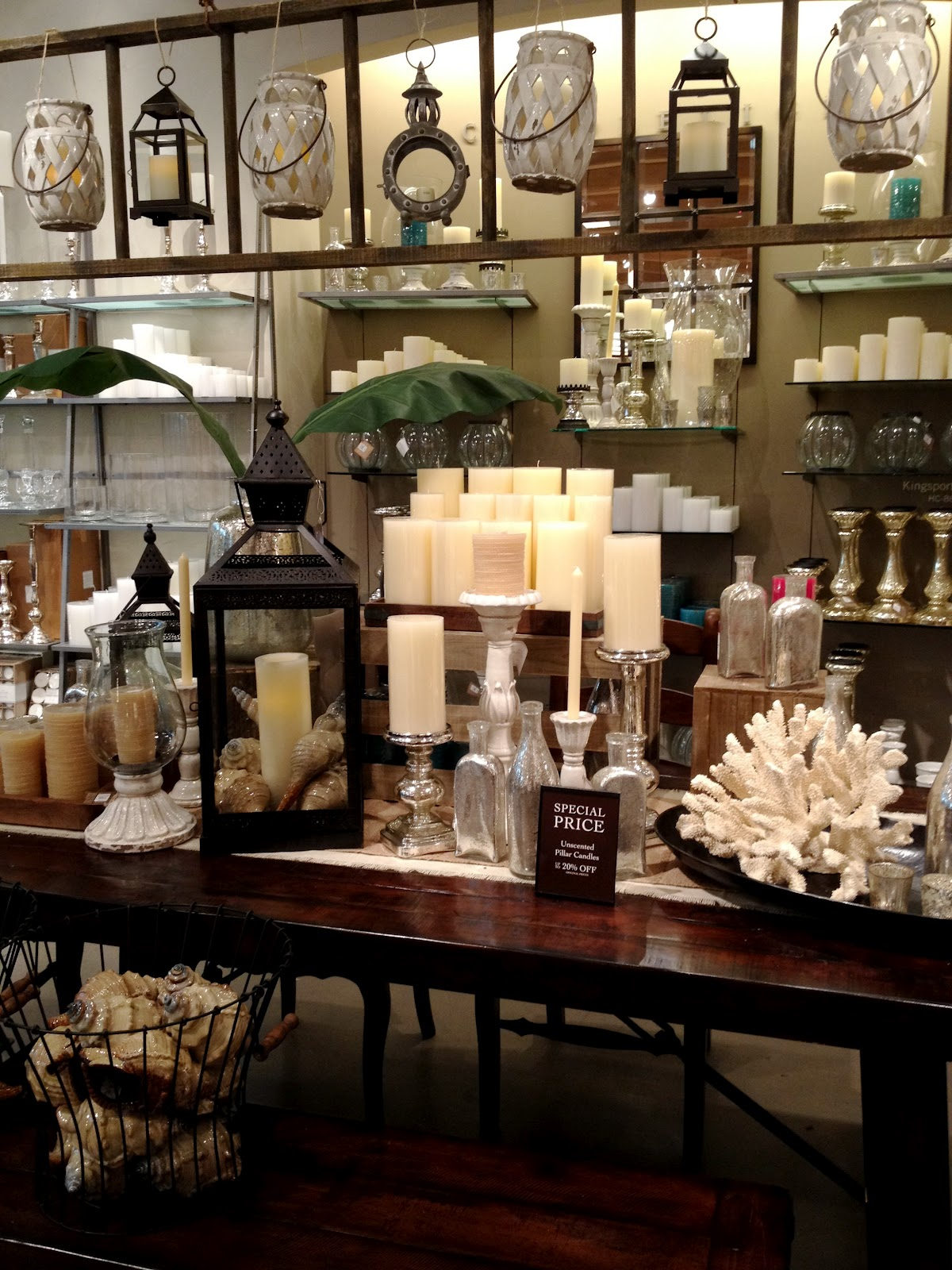 Pottery Barn Knock Off Diamond Art: Early Summer Pretties At Pottery Barn {Table-scapes & More}