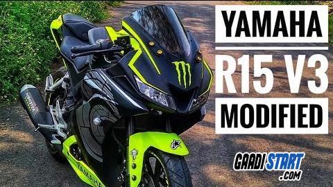 Top Yamaha R15 V3 Modification in india - Gaadistart com- The