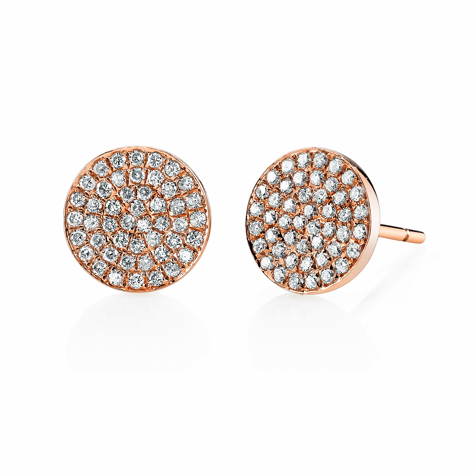 22f44ac97 These Anita Ko 18K yellow gold 6-sided spike studs are nice way to add a  fun and fab touch to your brunch look.