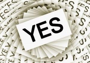 Say Yes; Removing the Stumbling Block, Lisa Friedman