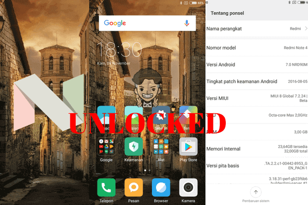 Remove microloud redmi note firmware 4x (mido) tested