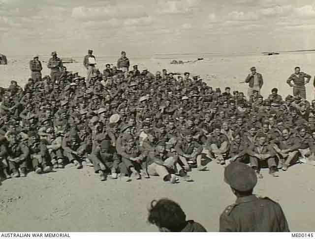 Briefing during Operation Crusader, 29 November 1941 worldwartwo.filminspector.com