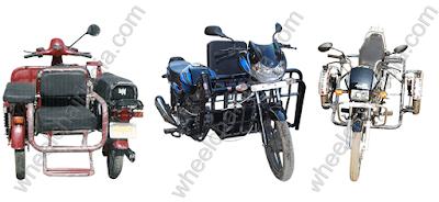 ARAI Approved Side Wheel Attachment