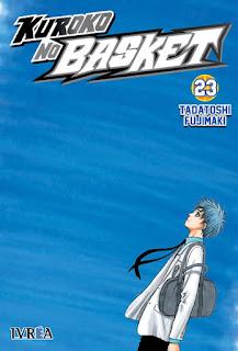 """Reseña de """"Kuroko no Basket"""" (黒子のバスケ) vol. 23 de Tadatoshi Fujimaki - Ivrea"""
