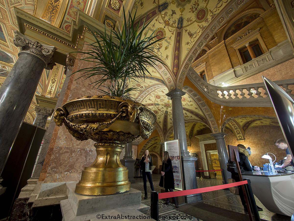 Opera House Southern Foyer : Extra abstraction magyar Állami operaház