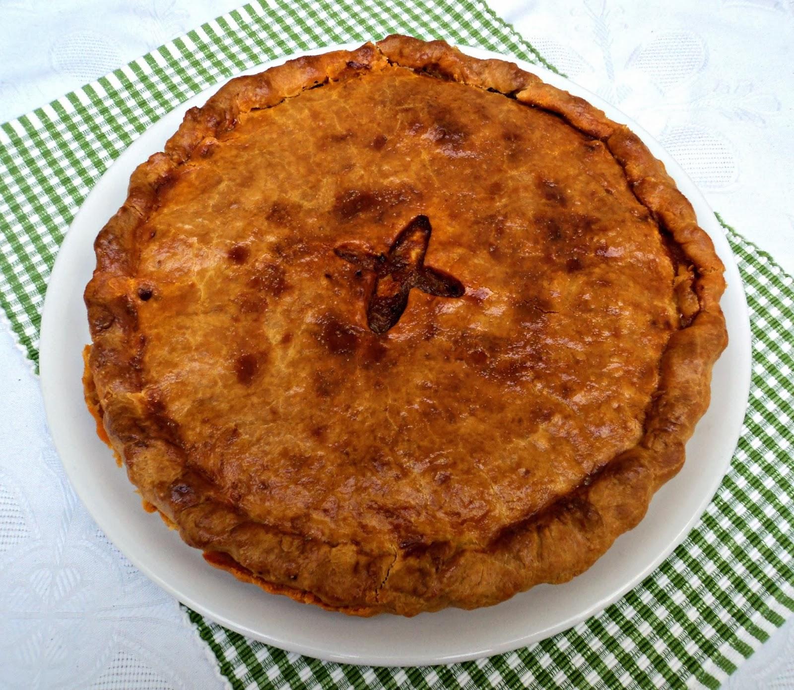 receta casera empanada, pulpo
