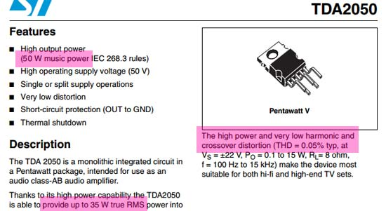 spec-datasheet-tda-2050 Datasheet Ic Lengkap on flip flop, sb101c usb cmos, logic gates,