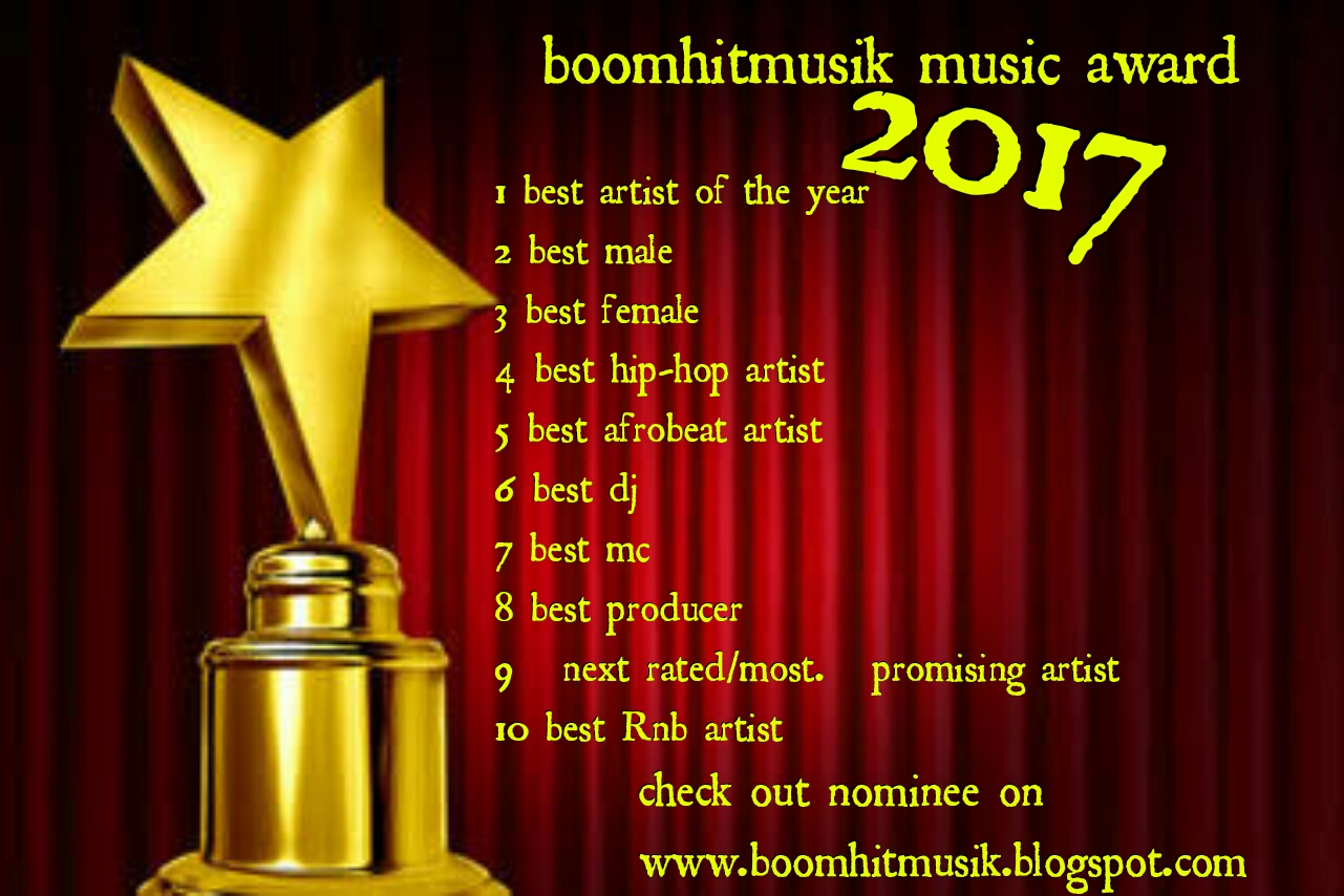 Voting link boomhitmusik award 2017 vote your best artist