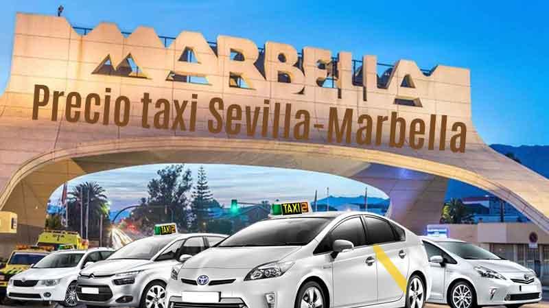Precio taxi Sevilla a Marbella