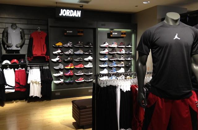 Loja Nike em Los Angeles