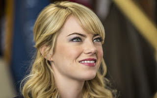 Emma stone most beautiful actress in Hollywood