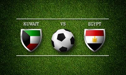تعرف علي قائمة منتخب مصر المستدعاة لمواجهة منتخب الكويت الودية