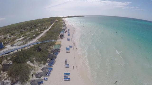 Pierwszy dron nad Kubą!