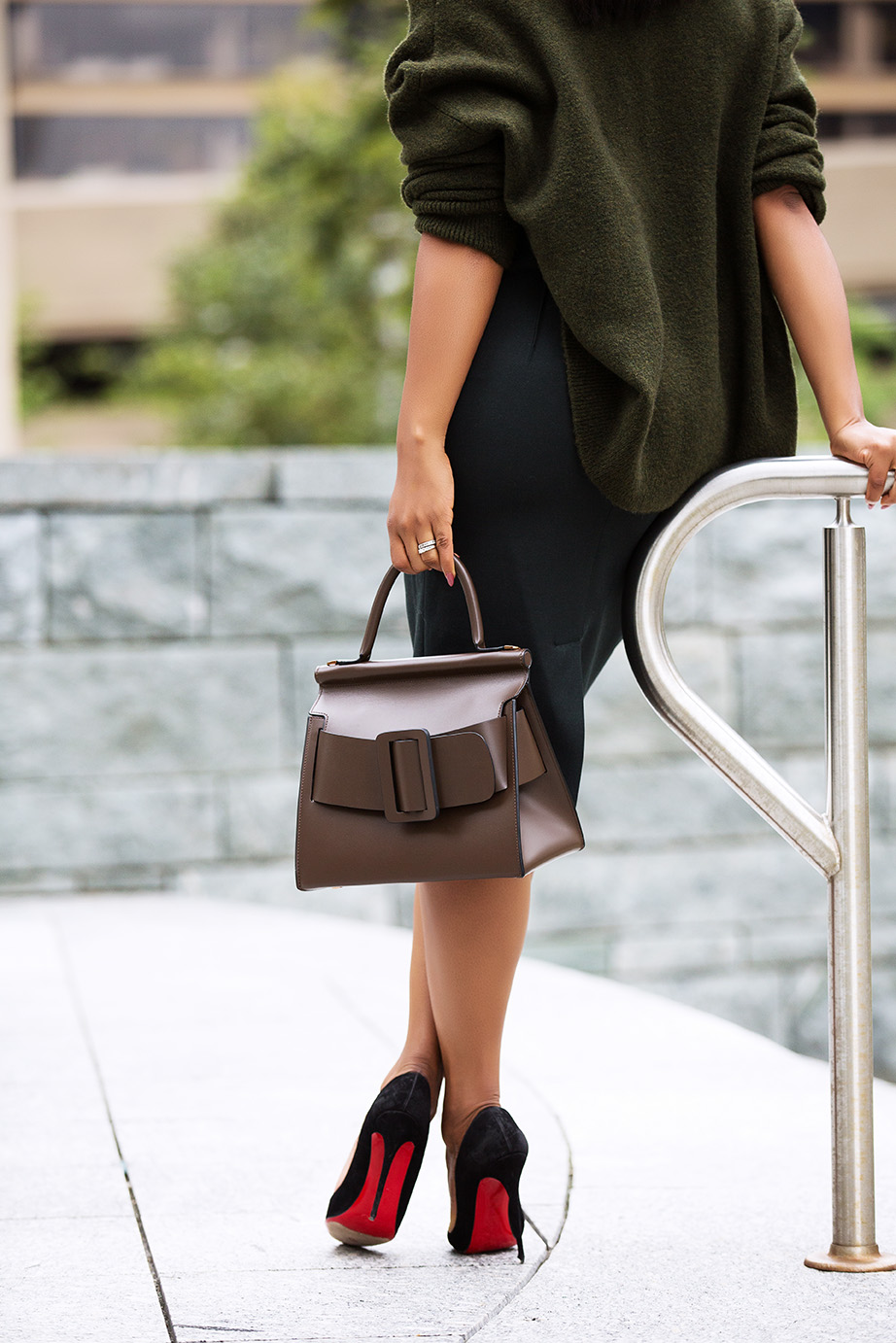 holiday fall work style, BOYY bag, www.jadore-fashion.com